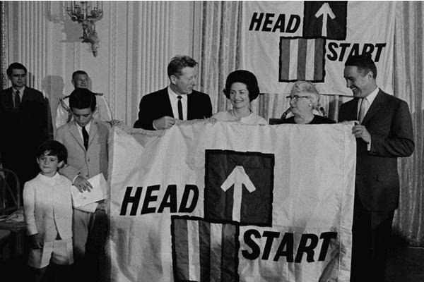 Lady Bird Johnson National Head Start Day 1965